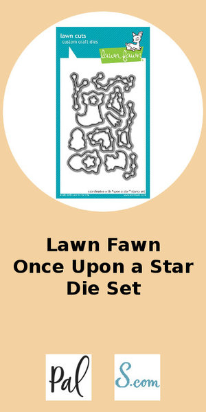 Lawn Fawn Once Upon a Start Die Set