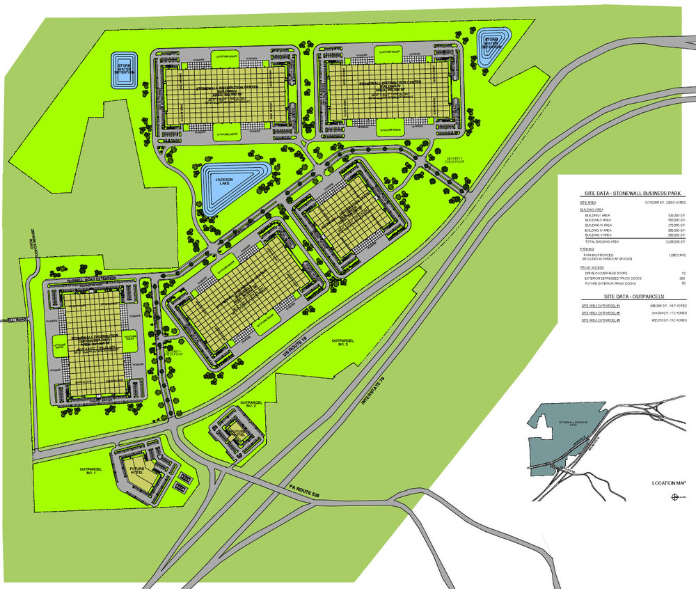 STONEWALL INDUSTRIAL PARK MASTER PLAN