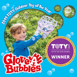 Glove A Bubbles   Glove A Bubbles are bubble gloves that create hundreds of bubbles! You simply tear off the bottom, dip the glove into the provided bubble solution bag, wave & play to create hundreds of bubbles.