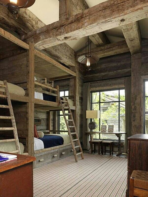 Rustic Bunk Room