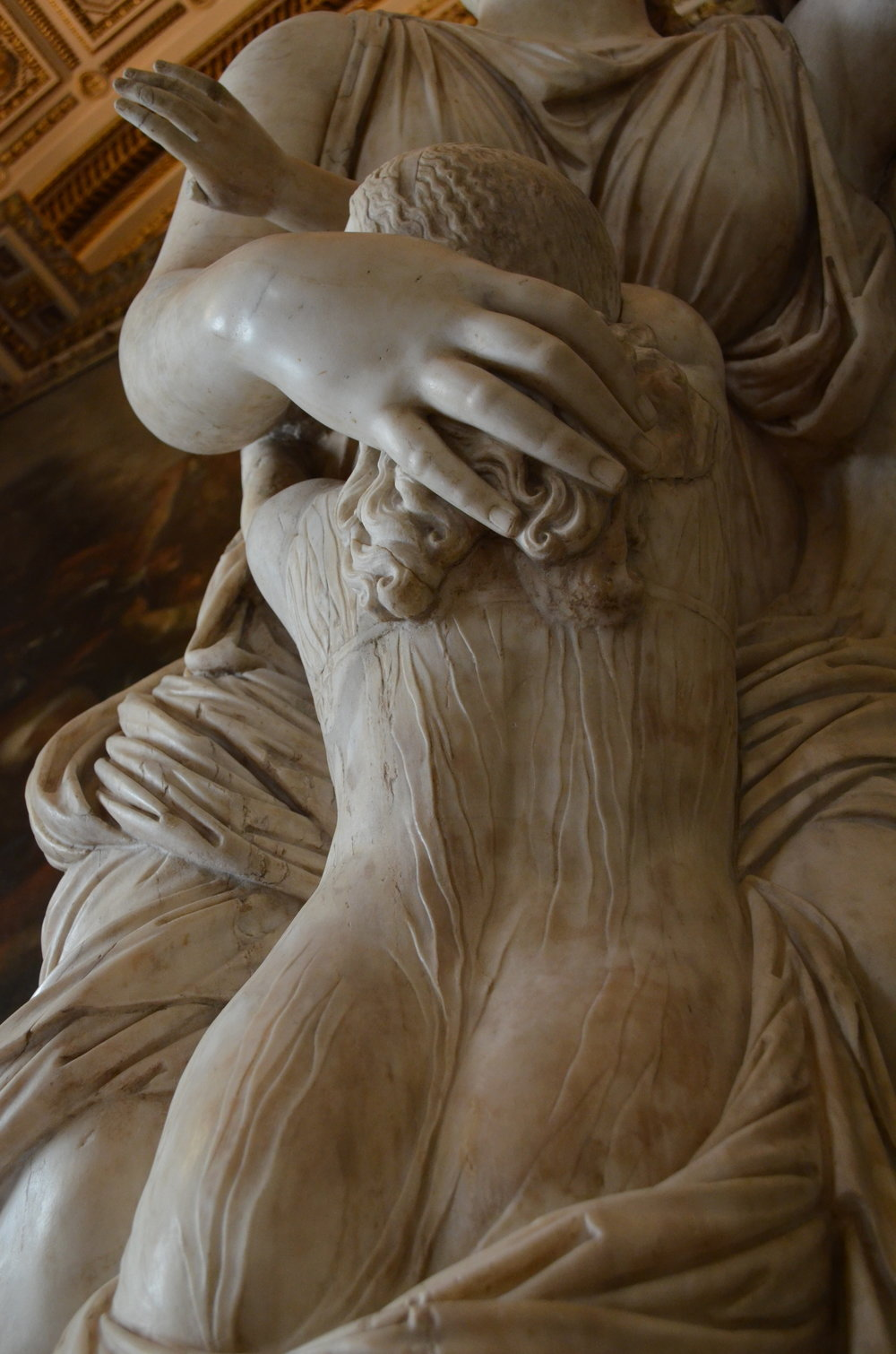 Amazing marble work.