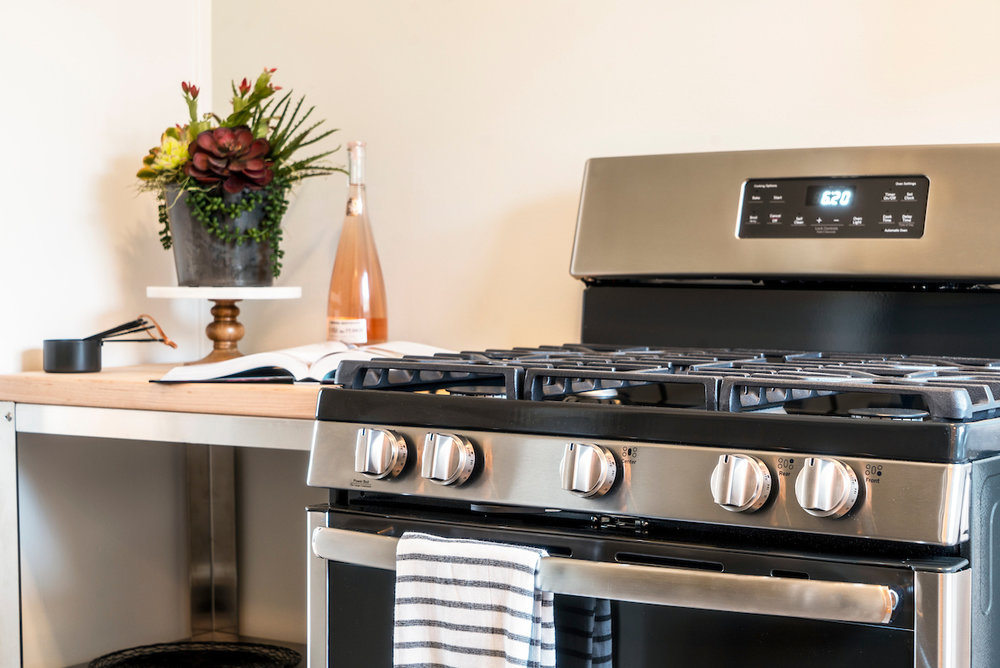 high-efficiency energy-star appliances in beautiful kitchens
