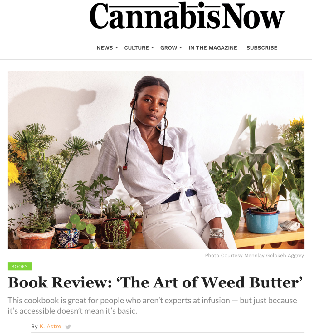 Cannabis Now / The Art of Weed Butter review /