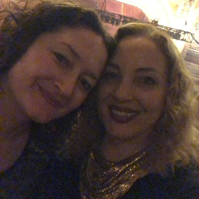 Happy 2019 from @nikisvara & me!