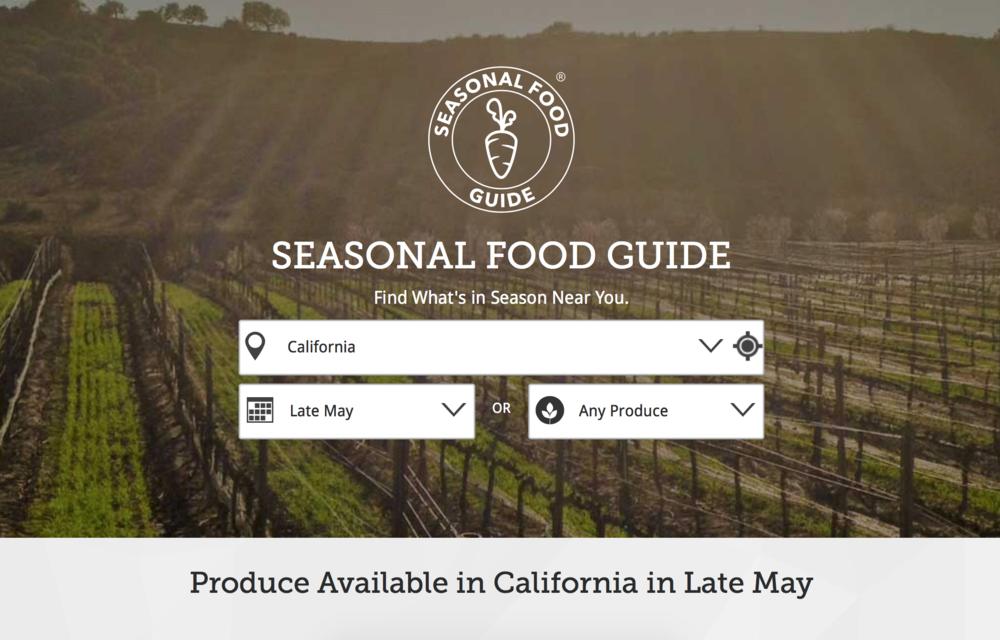 Seasonalfoodguide.org - EWG's Seasonal Food Guide