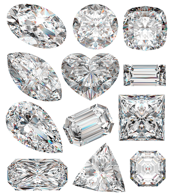 The GIA cut scale ranges from excellent to poor.