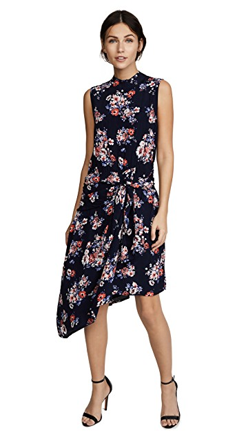 -  Ella Moon Floral Tie Front Dress  CAD $74.83