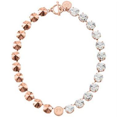 - REBEKAH PRICE® SPIRIT NECKLACE - CRYSTAL & ROSE GOLD$164 CAD