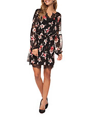 - DEX Floral Fit-and-Flare Dress $23.50