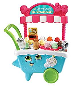 - LeapFrog Scoop & Learn Ice Cream Cart $37This is Ethan favorite toy. He has been playing with this since he turned one!
