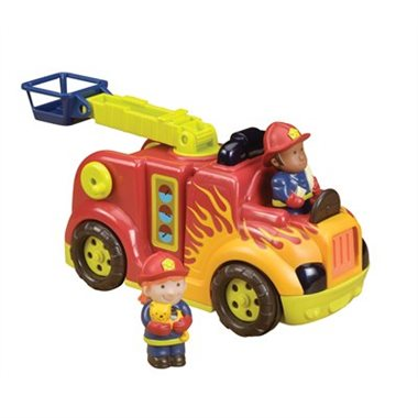 - FIRE FLYER, RRRROLL MODELS - B. Toys $29.99Ethan was gifted this toy by B. Toys and it's his new favorite.