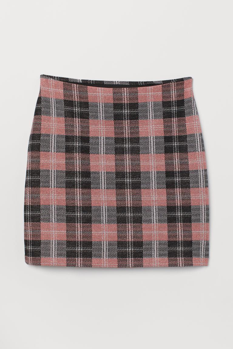 - Plaid Pink Skirt - $19.99