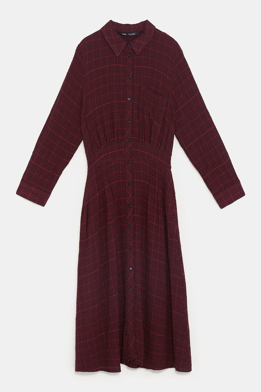 - PLAID DRESS79.90 CAD
