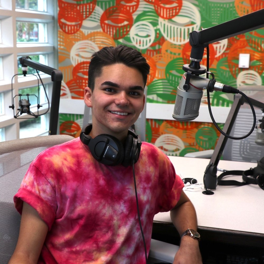 Jacob Perez  From Melbourne, Florida (not Australia), Jacob is a senior majoring in neuroscience & philosophy. His favorite genres are R&B, pop, and electronic music. He enjoys stirring the pot, using ampersands whenever possible, & sipping extremely hot tea.  Catch him on Mondays from 1-3 p.m.