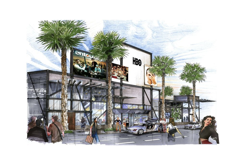 CONCEPT:  HBO Theater and Retail - Las Vegas, NV