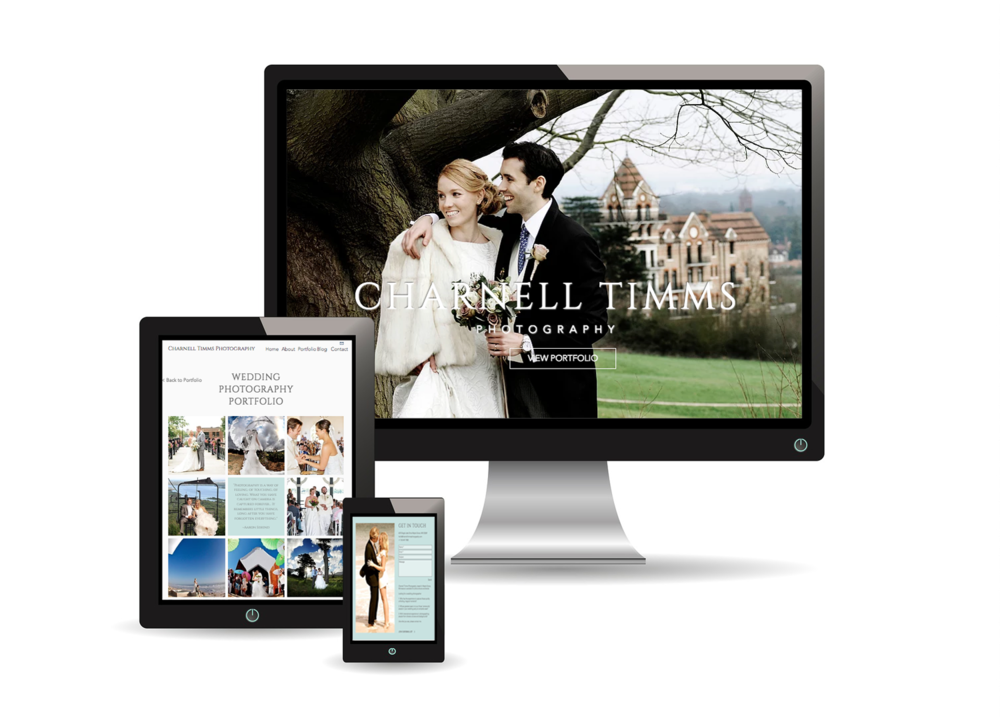 Charnell Timms Photography website design project.png