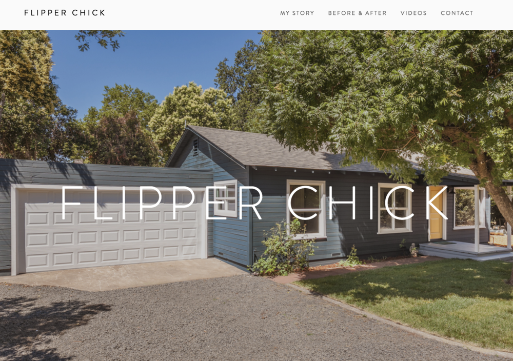 FLIPPER CHICK | Real Estate Investor Website - Flipper Chick specializes in the acquisition and renovation of single-family homes. Owner, Stacey Jones needed a way to share before and after photos of her construction projects with investors. We set up a professional site quickly using Squarespace.