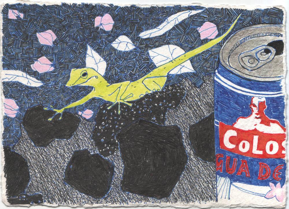 Gecko + Coconut Milk
