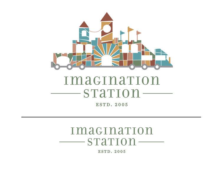 imagination station logo ivy mcnally
