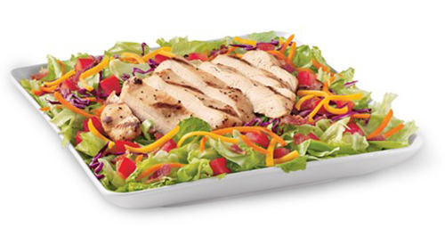 Grilled or Crispy Chicken Salad