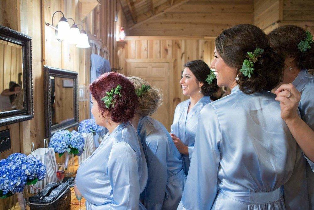 Blue Hydrangea Bridesmaid Bouquet.jpg