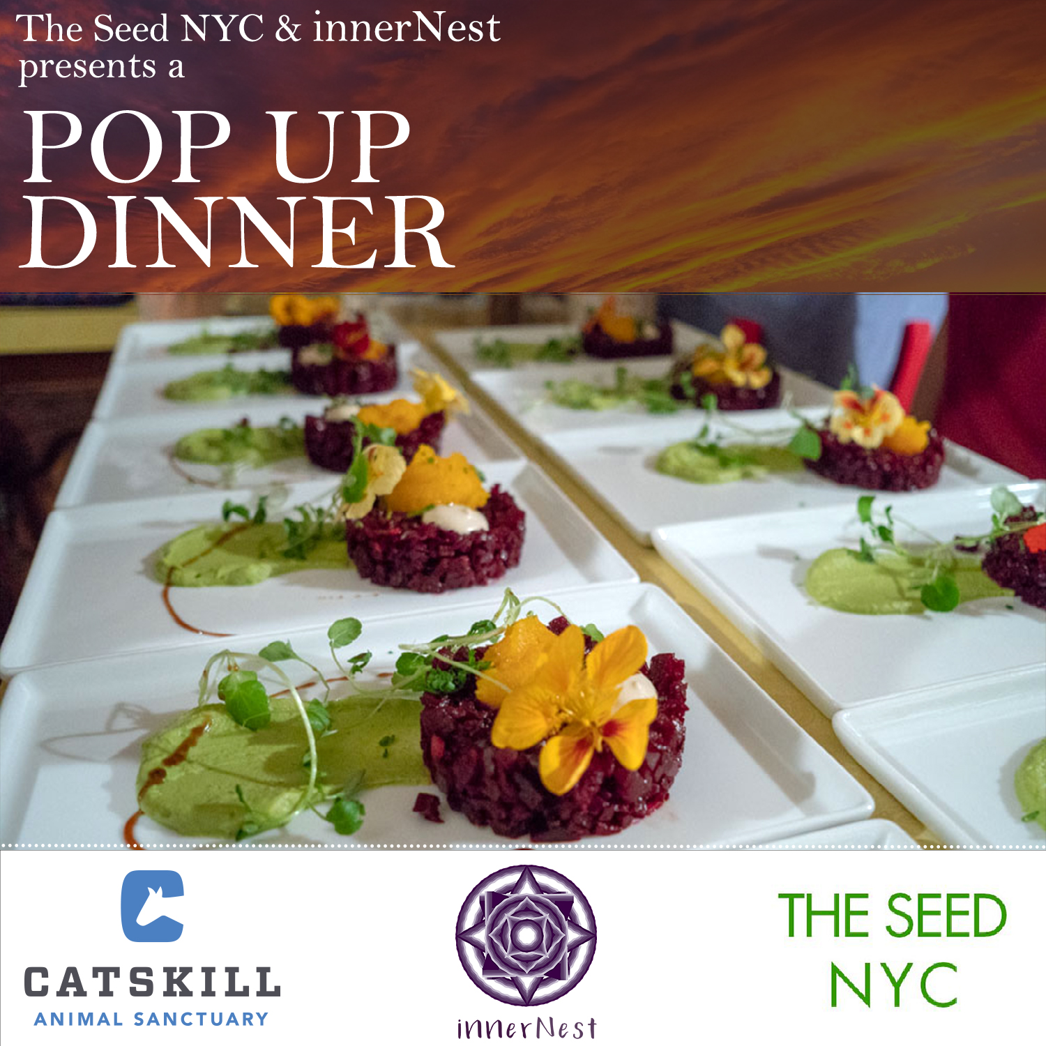Dinner at Dusk -Catskill Animal Sanctuary Benefit