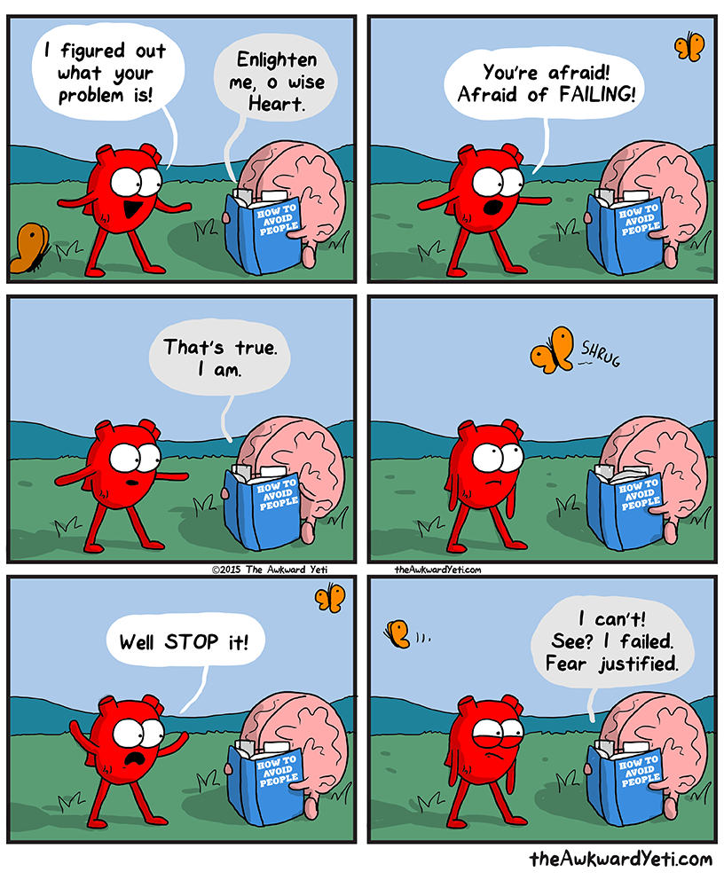 http://theawkwardyeti.com/comic/fear-failure/