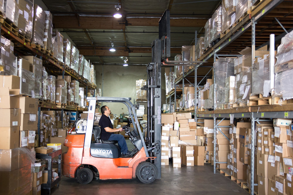 Secure, clean warehouse storage in Los Angeles