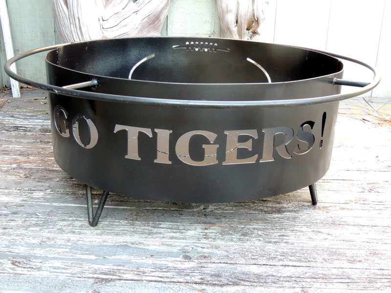 Auburn Fire Pit, Custom