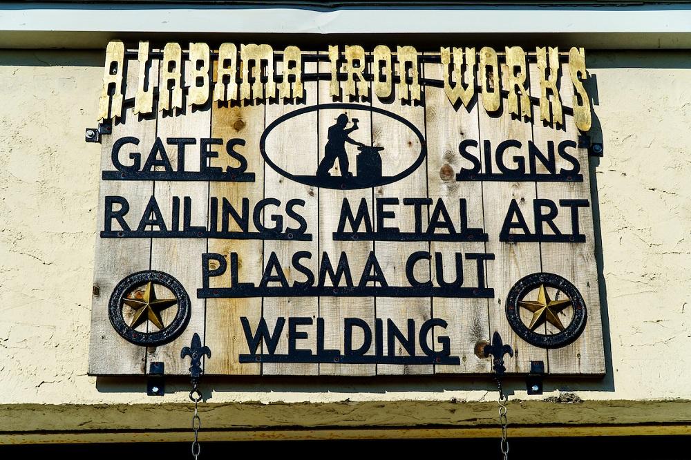 Alabama Iron Works Custom Signage