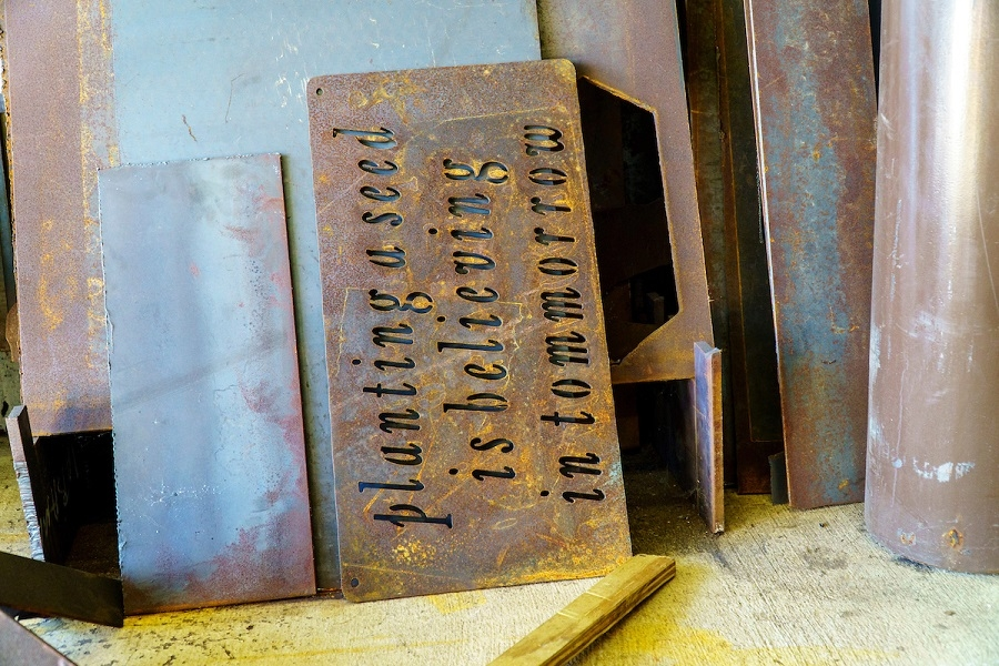 Inspirational Sign, Custom Engraved
