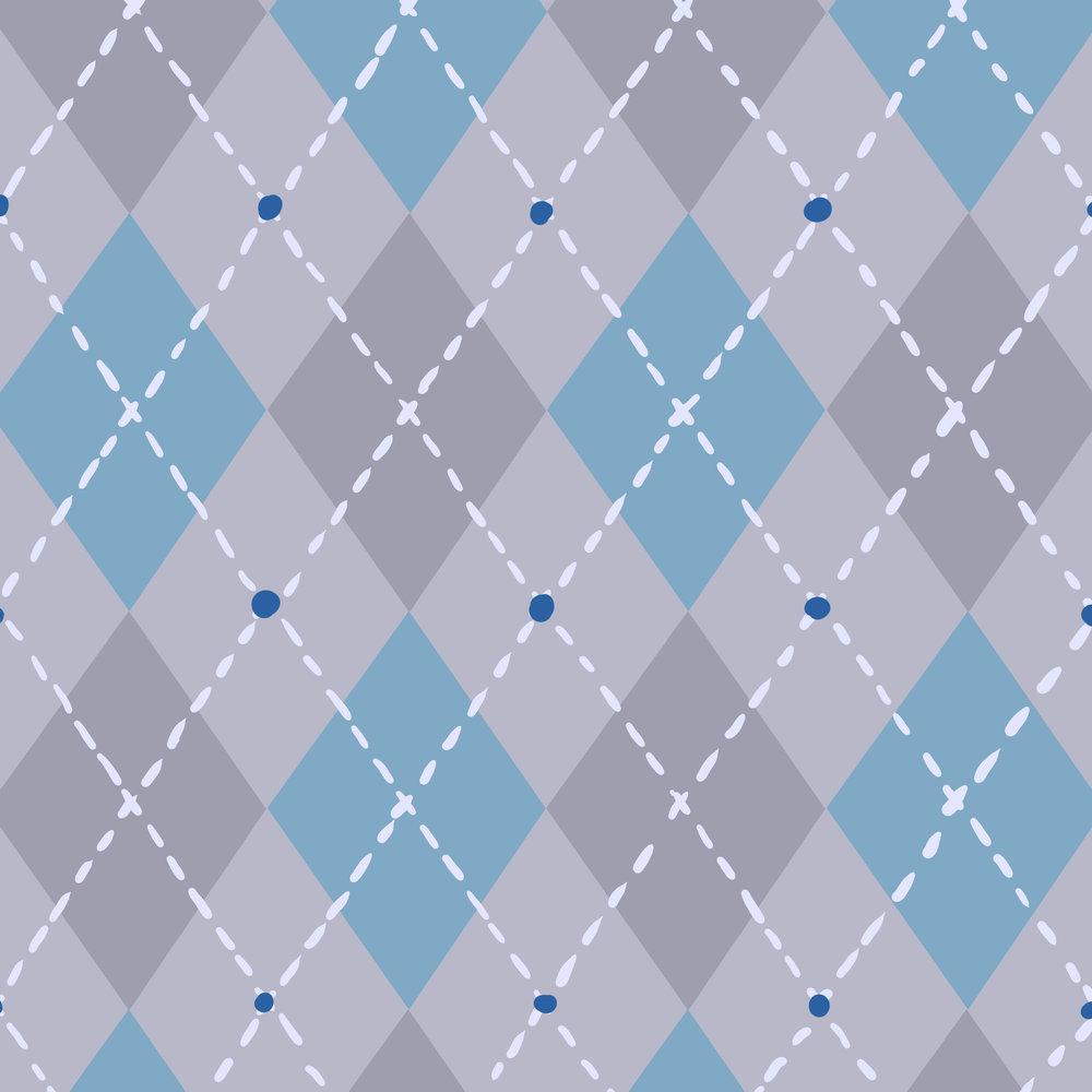 Hazel Skies Interior Pattern