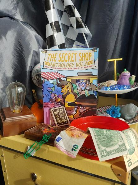 The Secret Shop Anthology Book Promotional Photo