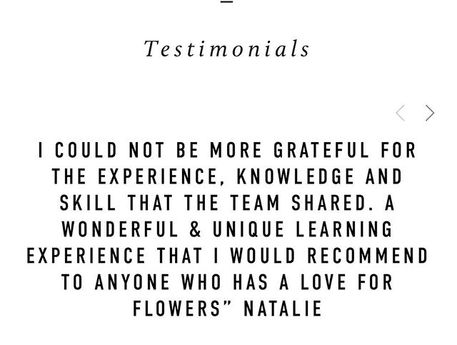 🙏🏻 So glad you could join us Natalie! Our #floralmasterclasssydney is for all FLOWERLOVERS!! No experience necessary!! 🌸🌸🌸