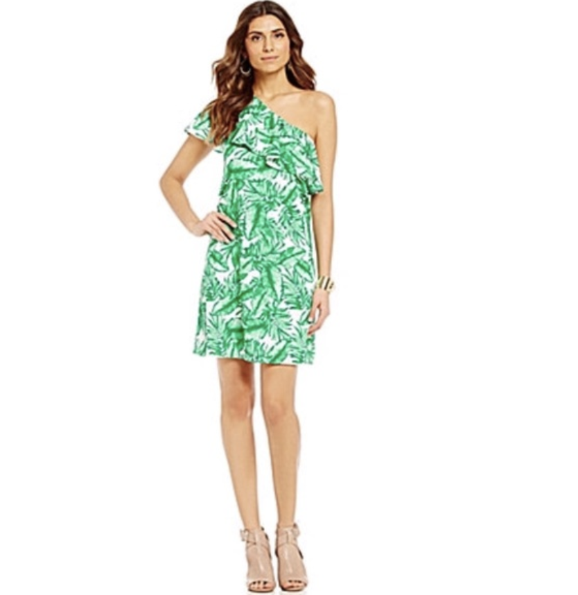 Gianni Bini Palm Dress
