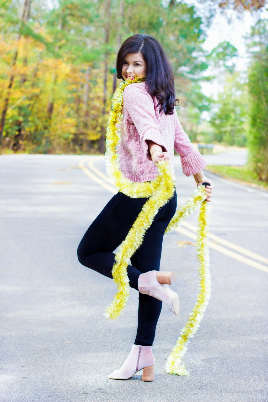 chenille sweater and velvet boots.jpg