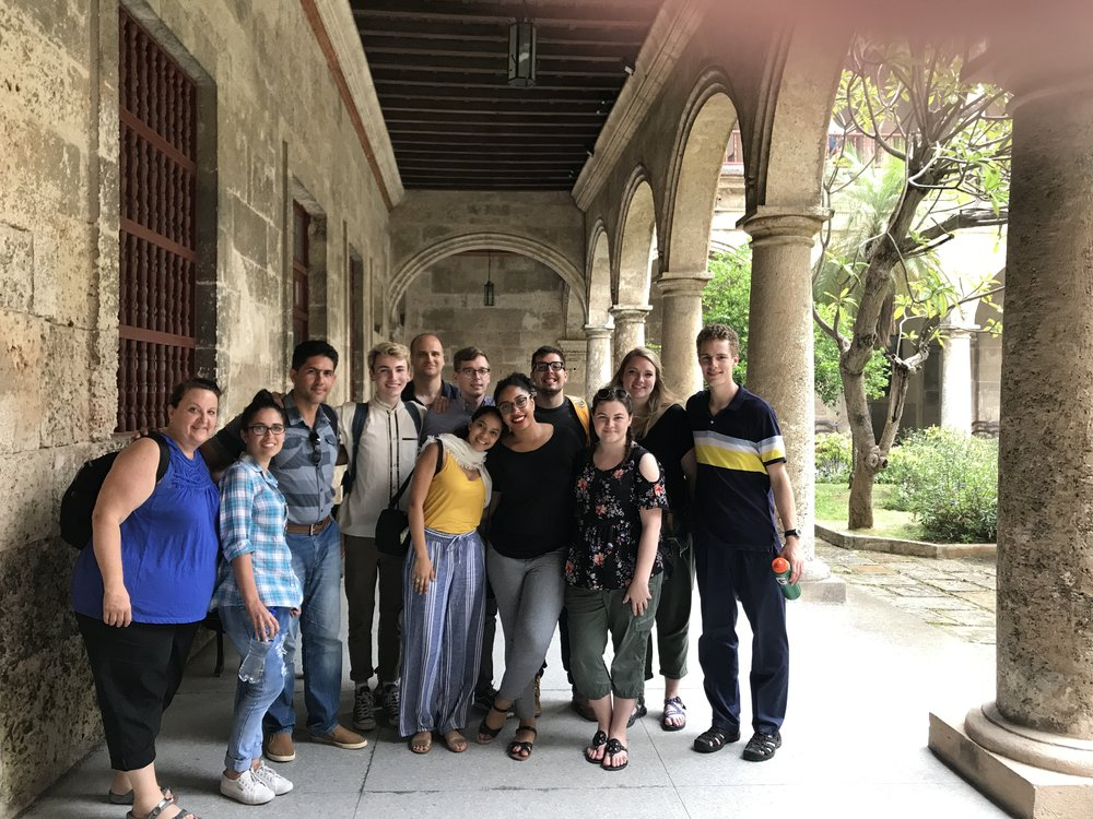 Cuba - With the help of local Jesuits, we meet with Christian communites and learn from  the great people of Cuban about their culture, problems and hopes in their past, now and in the future.