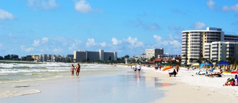 Crescent Beach Siesta Key Sarasota Florida