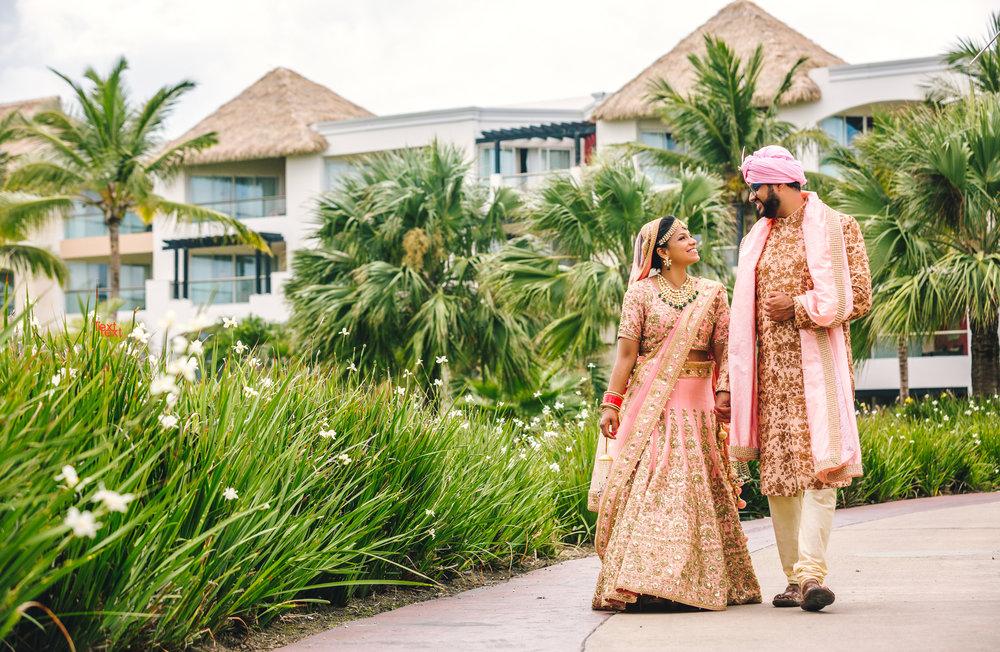 Punta Cana Destination Indian Wedding | Shruti + Nikhil - AMARJOT CHANA PHOTOGRAPHY