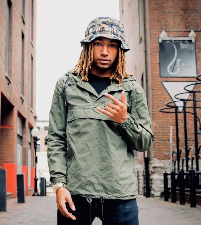 Terryl Banks aka nomo   From Peoria, Illinois, Terryl is a rapper, songwriter, and musical engineer. He also enjoys photography, fashion, and studies accounting at the University of Missouri in Columbia.