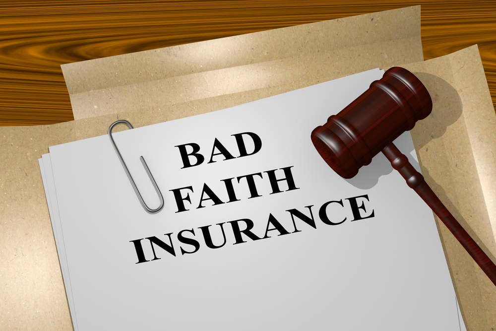 bad faith insurance signs