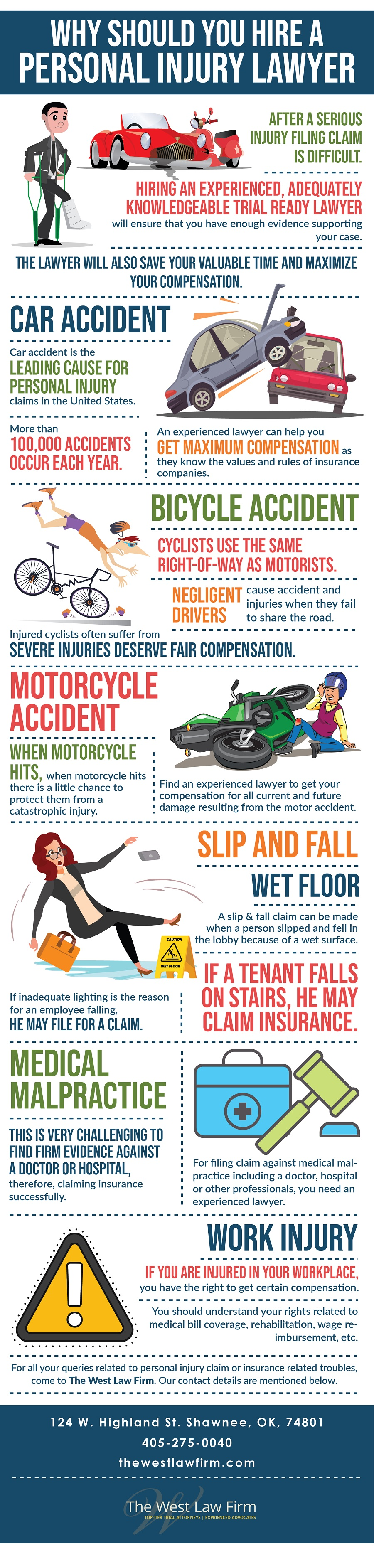 Why should you hire a personal injury lawyer