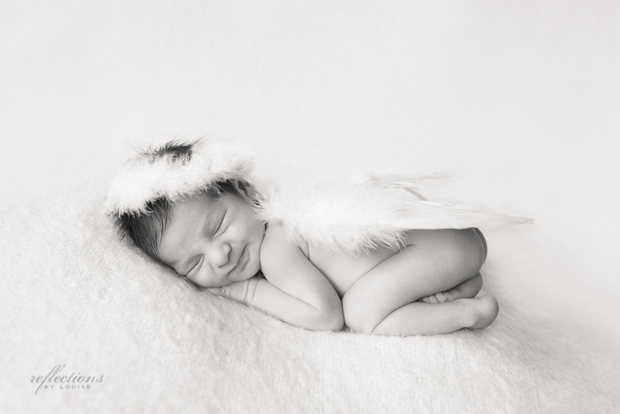 sydney baby photographer, western sydney newborn photographer, miracle baby, baby wings