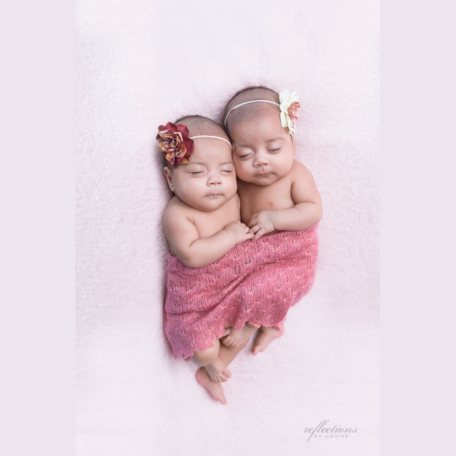Identical twin girls-1