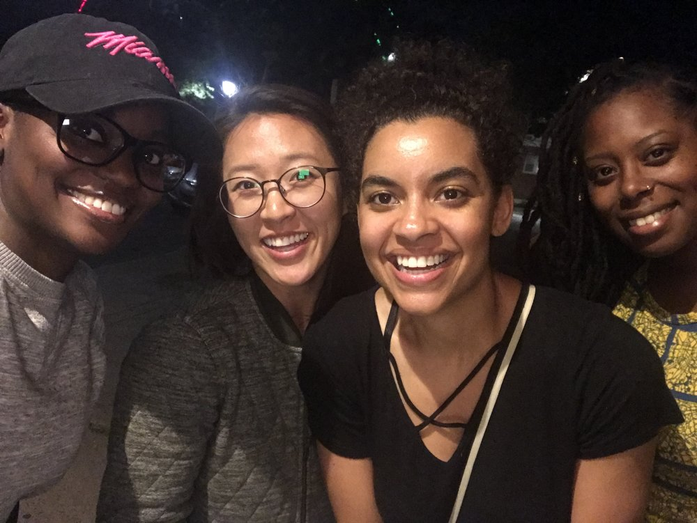 Tanesha Forman, Daisy Han, Britt Hawthorne, and Amelia Sherwood