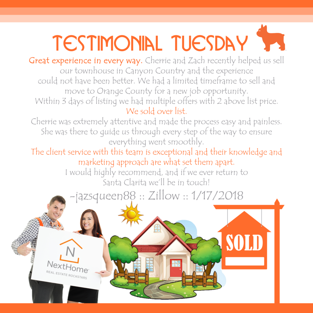Cherrie-Zach-Real-Estate-Rockstars-Santa-Clarita-Realtor-Valencia-NextHome-Zillow-Testimonial-Tuesday-I-1.png