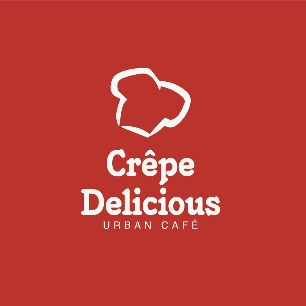 CREPE DELICIOUS   Graphic design work for Crepe Delicious.