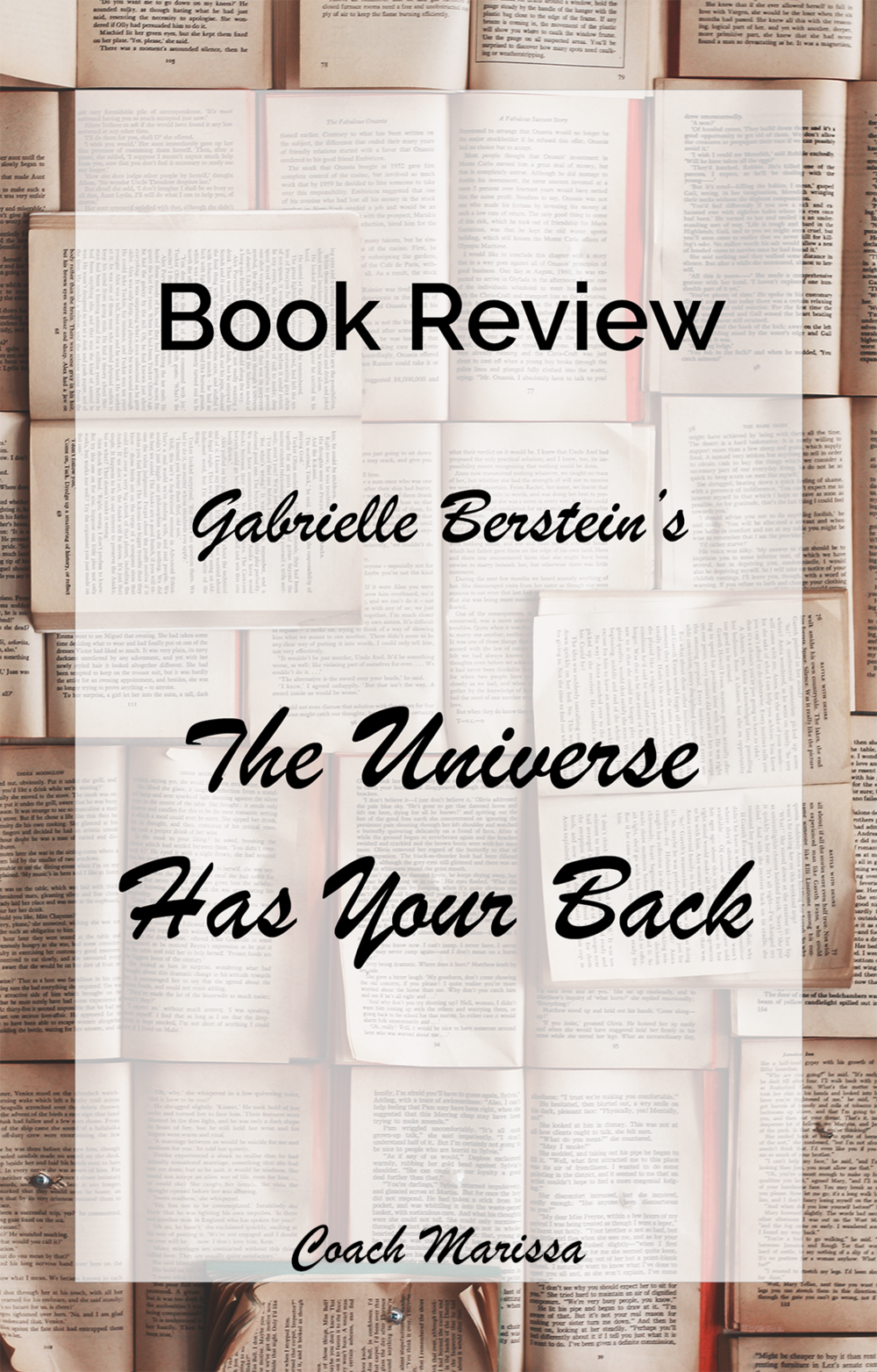 gabrielle bernstein's the universe has your back - read this book and feel inspired for personal growth!