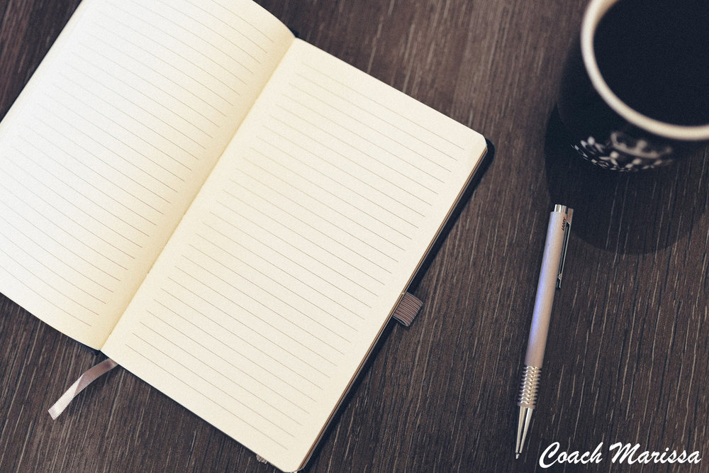 how and why to build a writing practice from a life coach