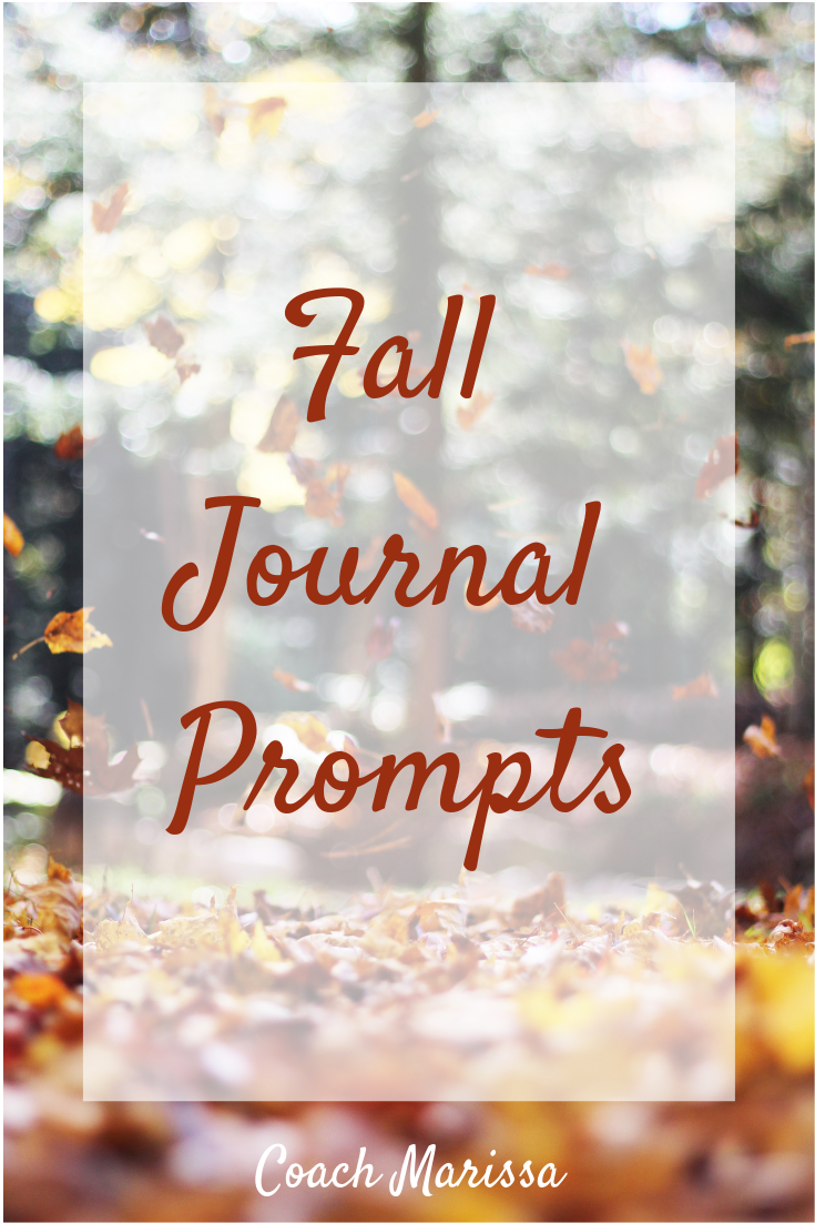 get inspired to write this fall with coach marissa's seasonal journal prompts